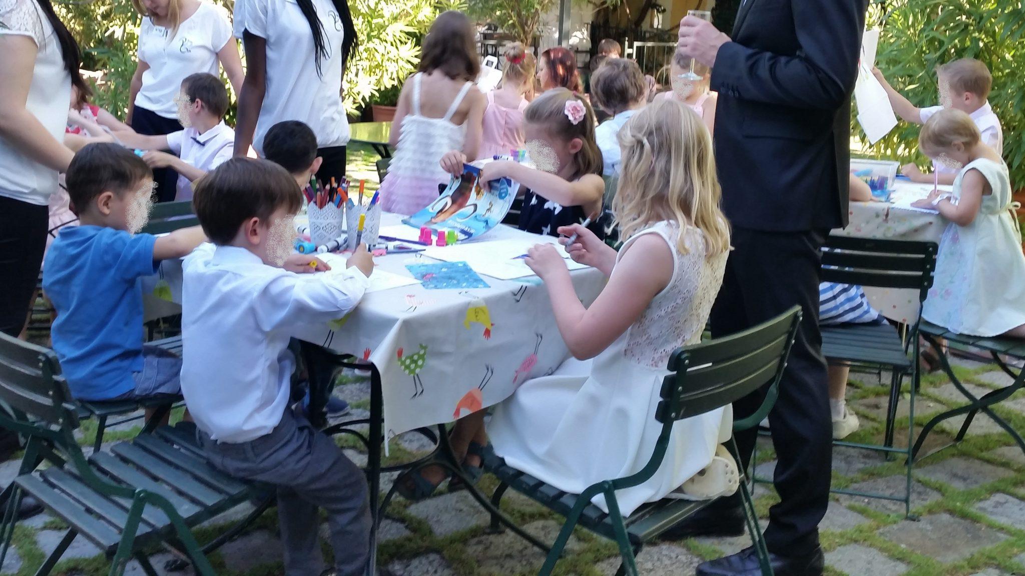 Hochzeit Kinderbetreuung Basteln